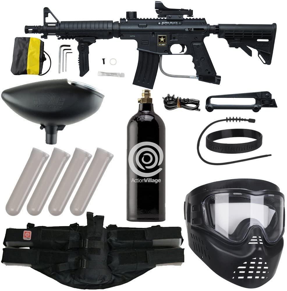 action village paintball gun