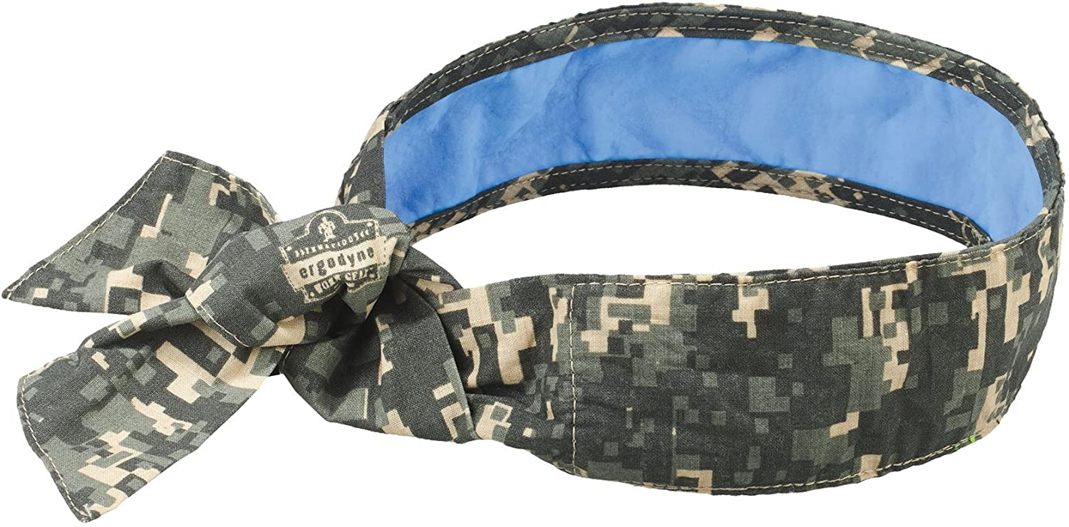 Ergodyne Chill square camo headband