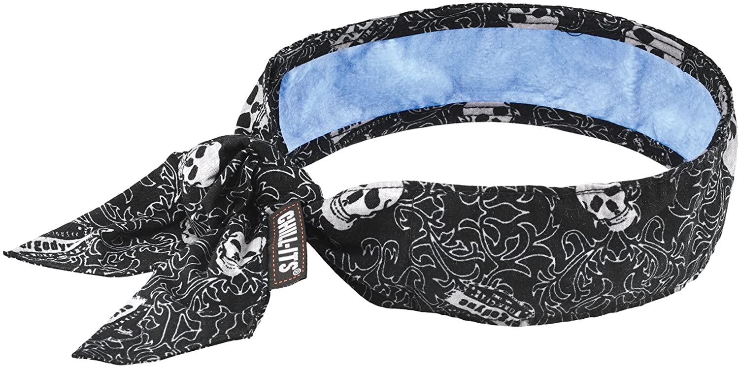 ergodyne skull paintball headband