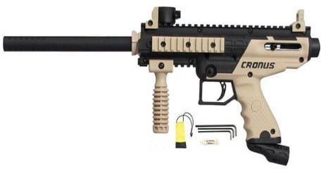 Tippmann Cronus Review - Image of tippman cronus paintball gun